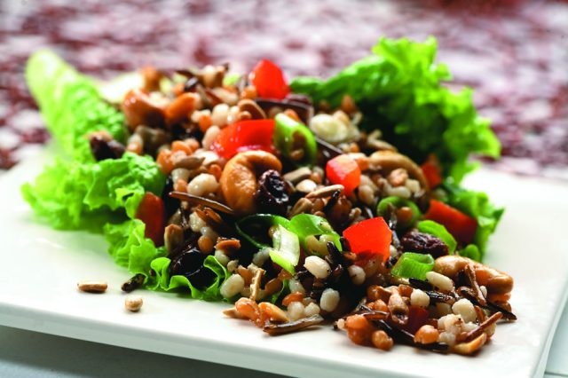 Wheat Berry, Rice and Orzo Salad