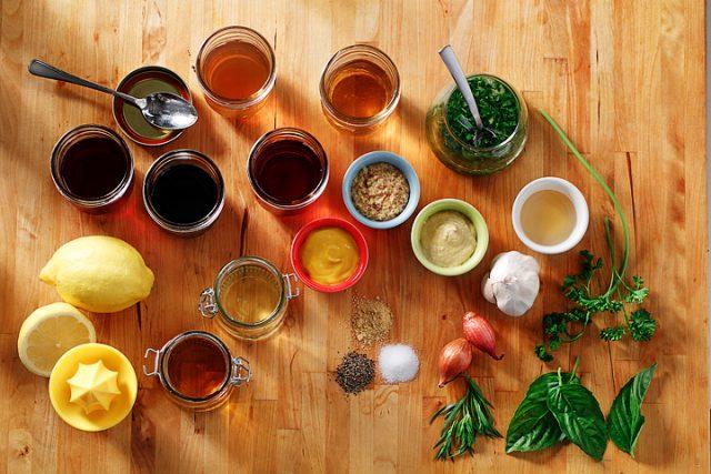 DIY Salad Dressings & Vinaigrettes