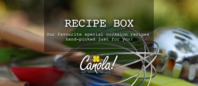Canola Eat Well Recipe Box