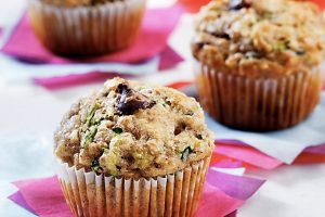 Zucchini Chocolate Chip Muffins as seen on CTV