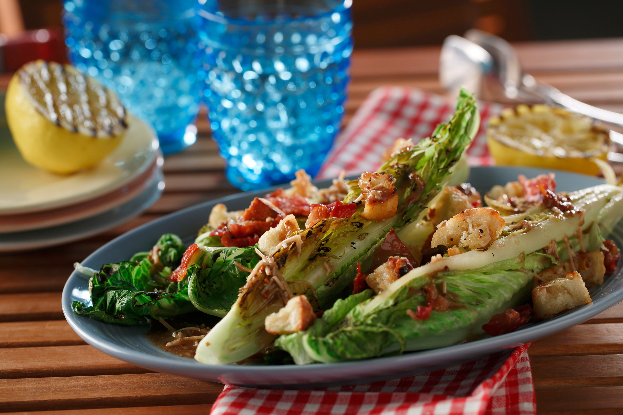 Best Grilled Caesar Salad Ever! | Eat Well