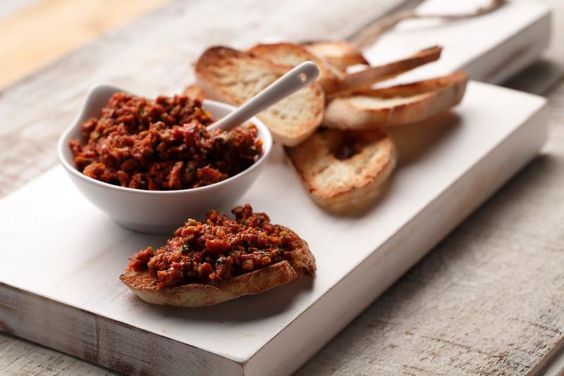 Sundried Tomato and Toasted Pistachio Pesto
