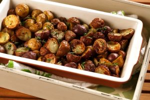 Three Herb Roasted Baby Potatoes