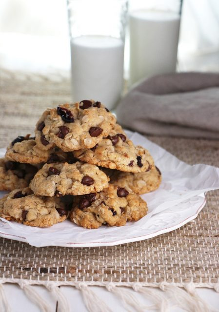 Fully-Loaded Oatmeal Cookies