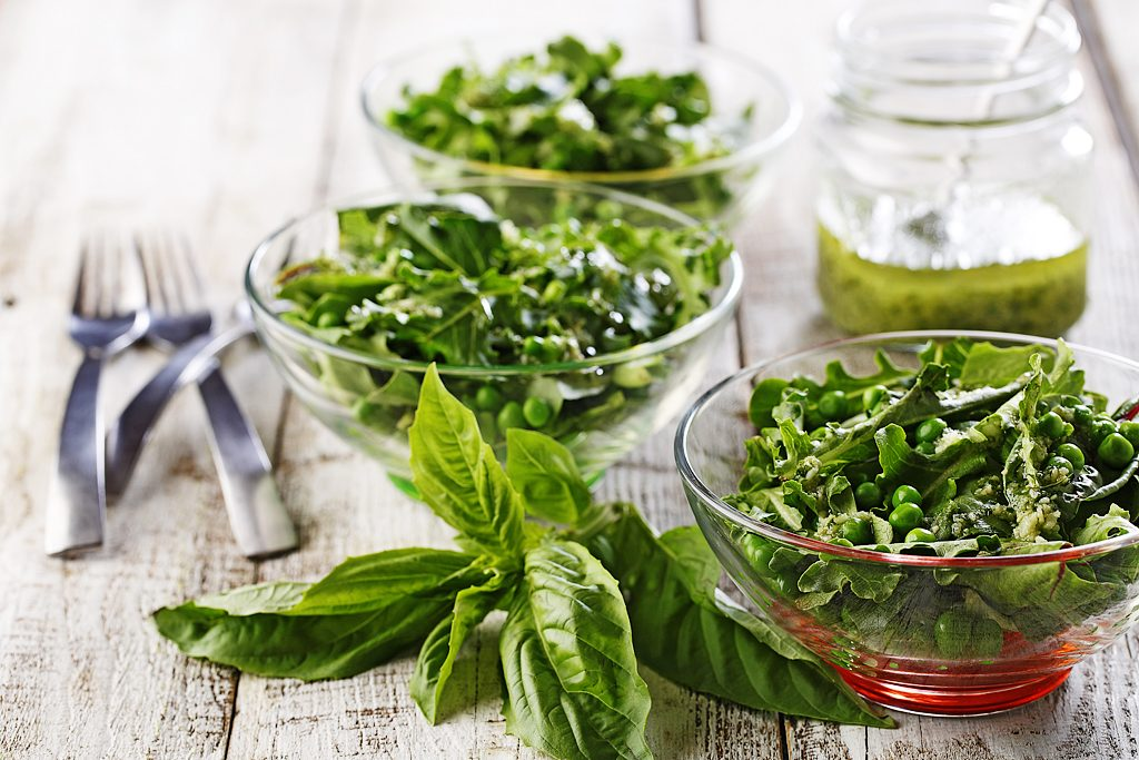 Green Pesto Salad