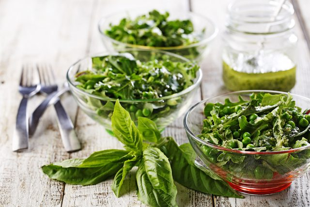 Green Pesto Salad