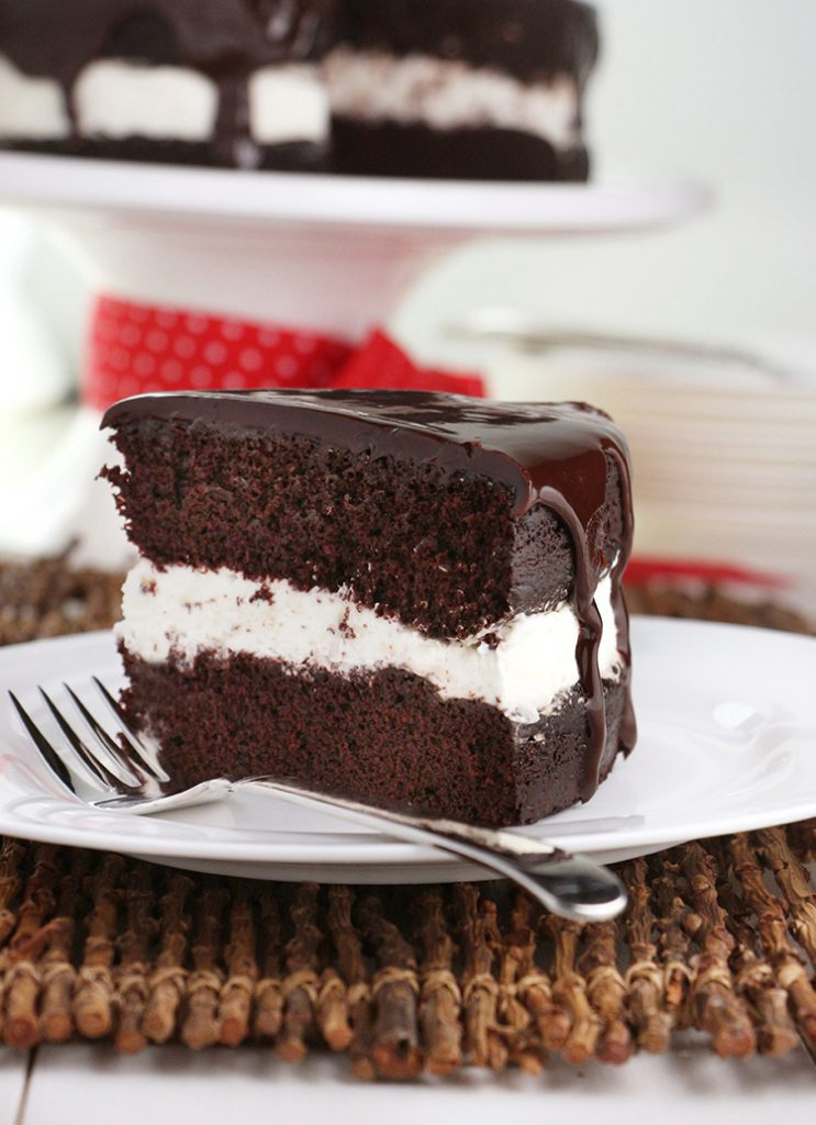 how to make a tuxedo cake