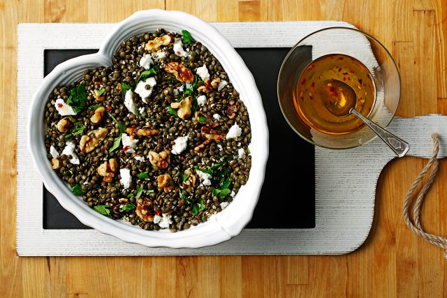 Du Puy Lentil Salad with Lemon Vinaigrette