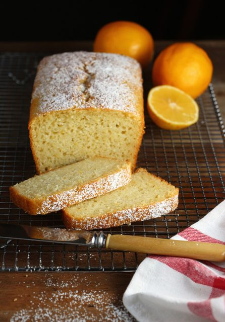 Meyer Lemon Pound Cake With Cardamom