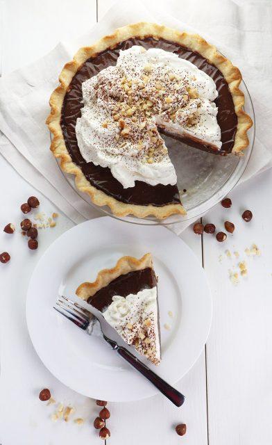 Milk Chocolate Nutella Cream Pie
