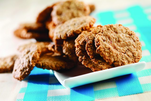 Triple-Oat Cookies