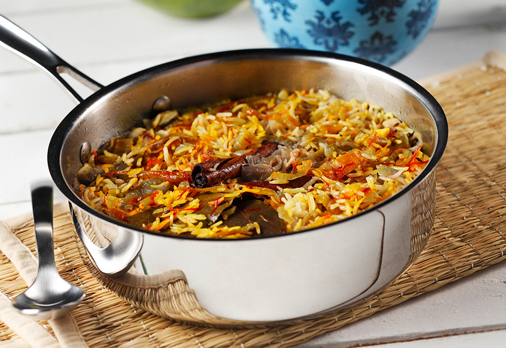 Basmati Rice With Saffron And Whole Spices Eat Well