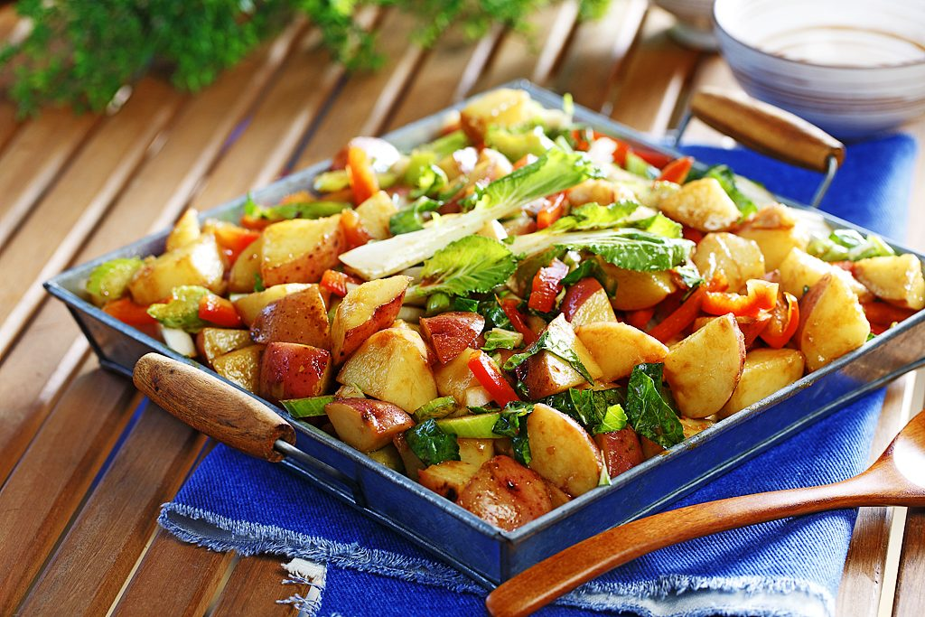 Asian-Style Potato Salad