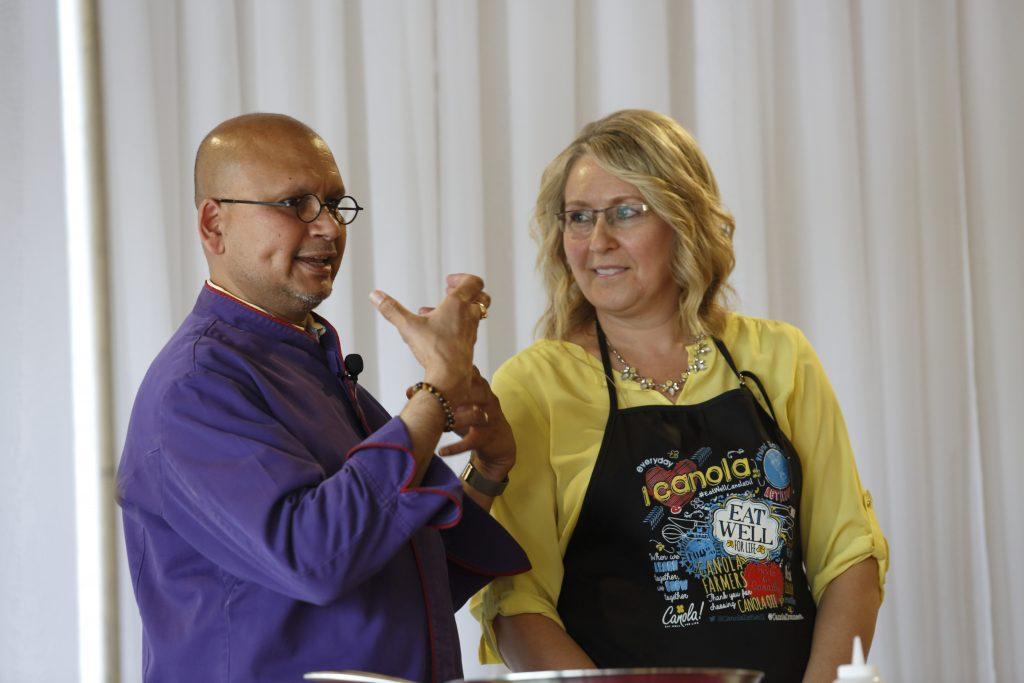 Learn Create Eat Raghavan Iyer and Patricia Chuey | www.canolaeatwell.com