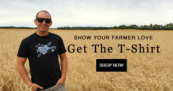 I Heart Farmers T-Shirt