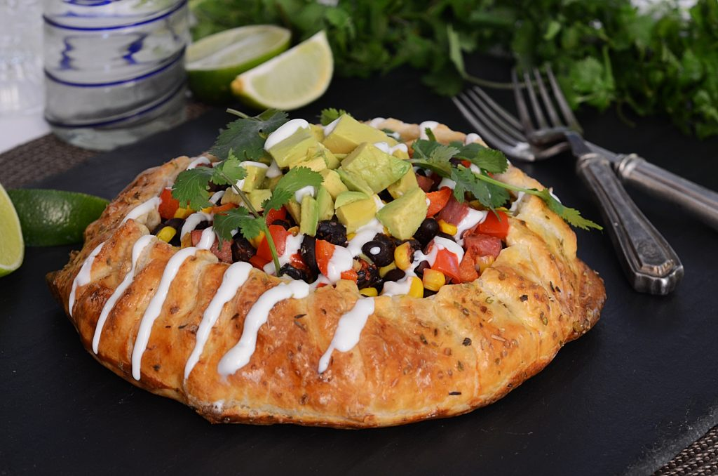 Fiesta Galette with Avocado