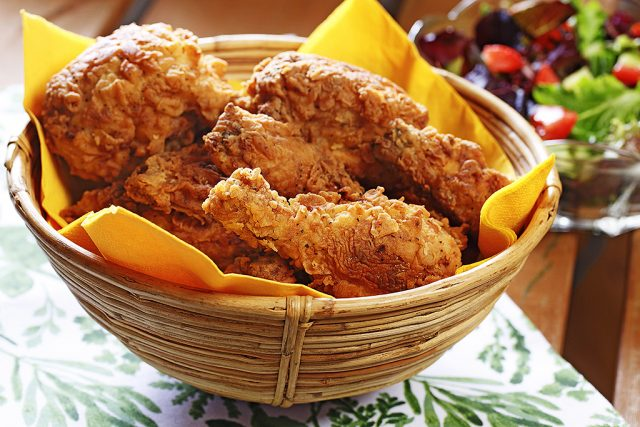 Crunchy Fried Chicken