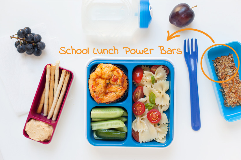 School Lunch Power Bars
