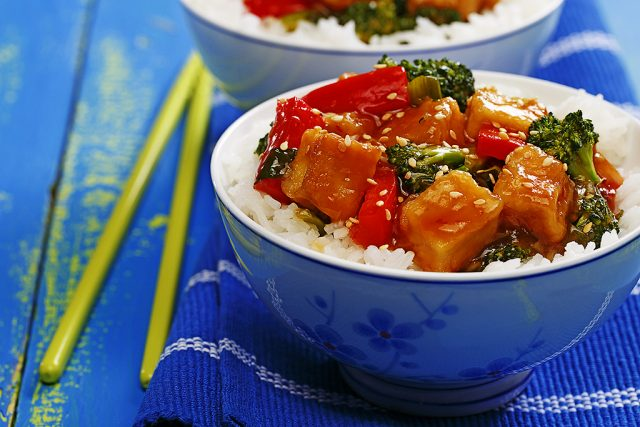 General Tao's Saucy Tofu
