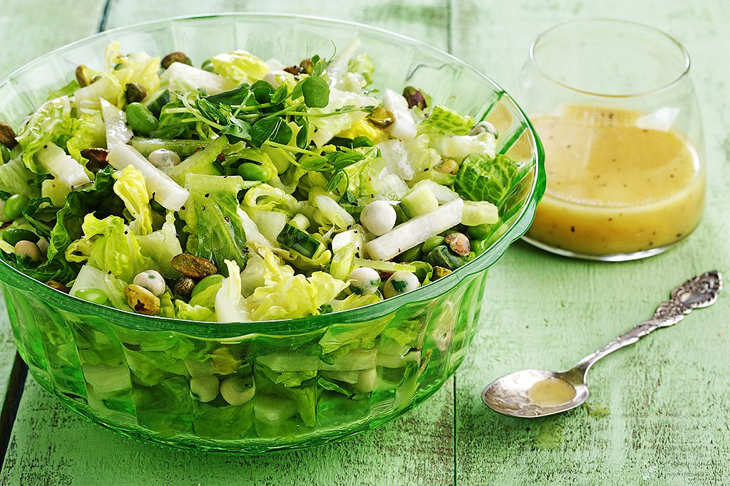 Dressed-Up Green Salad