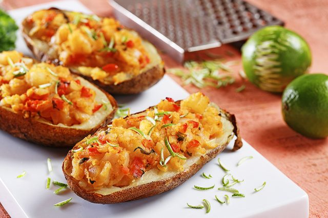 Twice-Baked Thai Potatoes