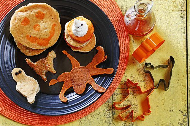 Halloween Pancakes