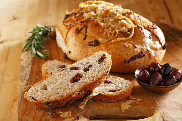 Rosemary Olive and Onion Bread