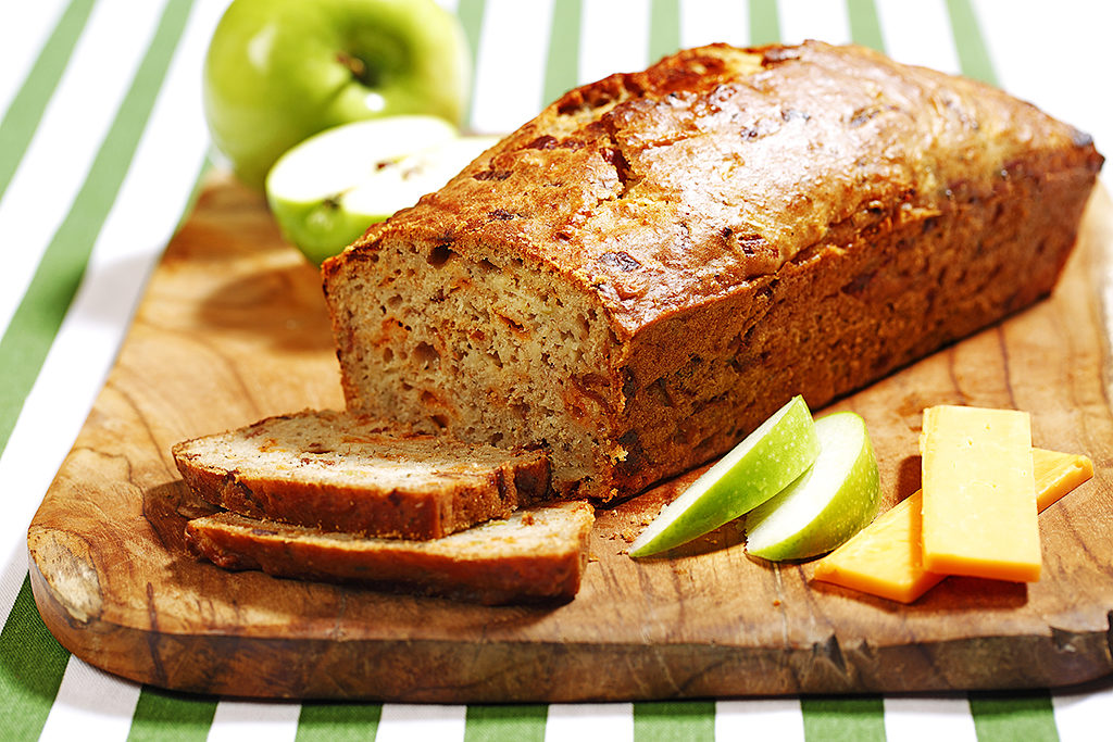 Apple, Cheddar, Bacon Loaf