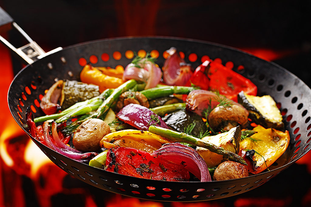 Fresh Herb Marinated Grilled Vegetables