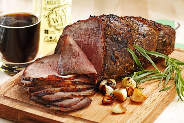 Guinness Beer-Barbecued Beef Roast