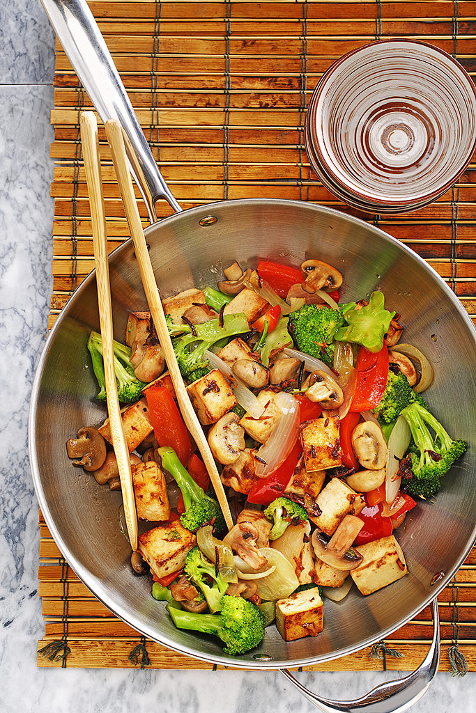 Stir-fry Tofu and Veggies