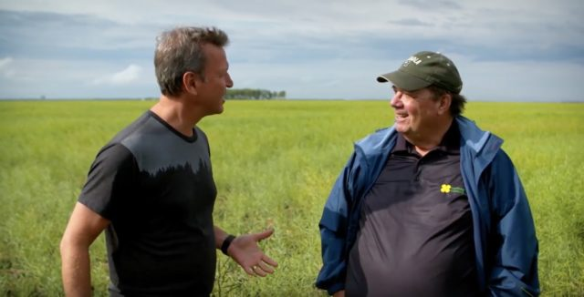 What makes your heart happy with farmer Chuck Fossay