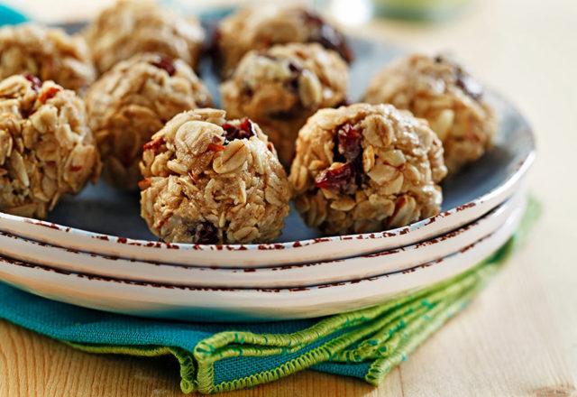 Cherry Almond Protein Energy Balls
