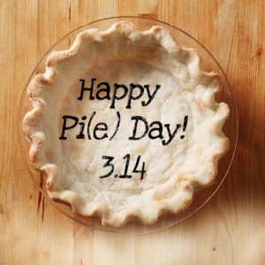 Pi(e) Day is March 14th!
