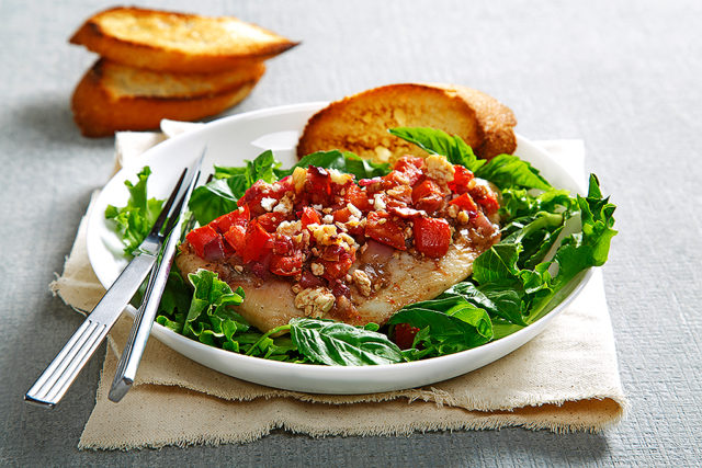 Bruschetta Fish