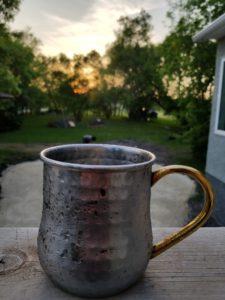 Copper Mug | www.canolaeatwell.com