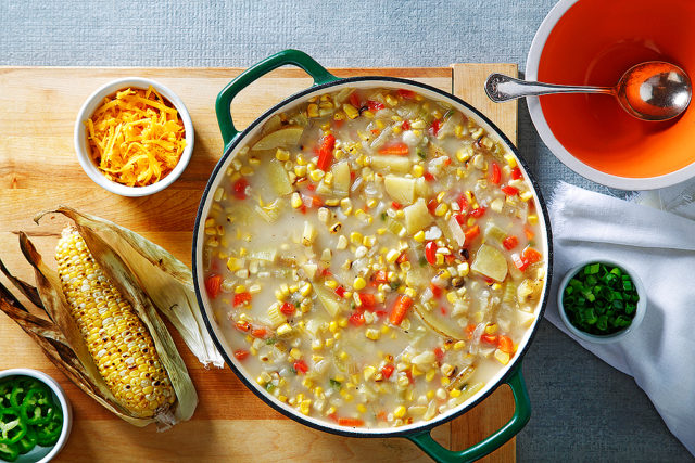 Smoky Corn Chowder