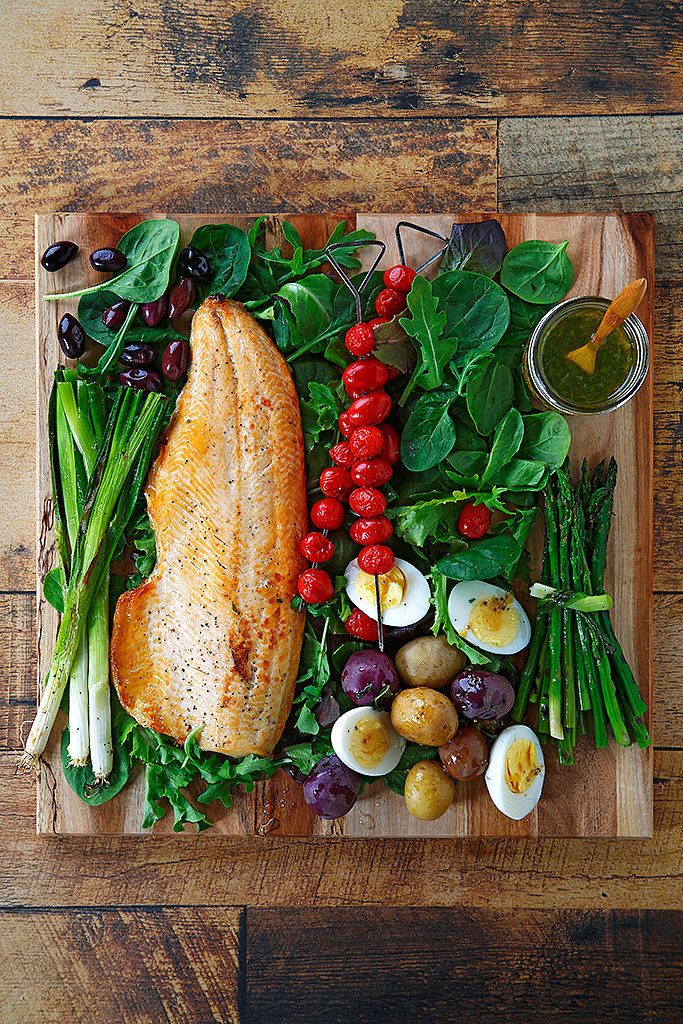 Grilled Arctic Char Nicoise