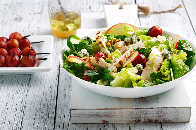 Grilled Chicken and Grape Waldorf Salad