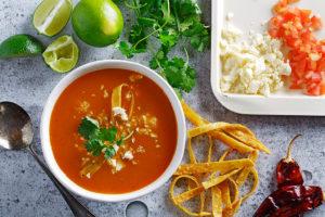 Sopa de Tortilla (Tortilla Soup )