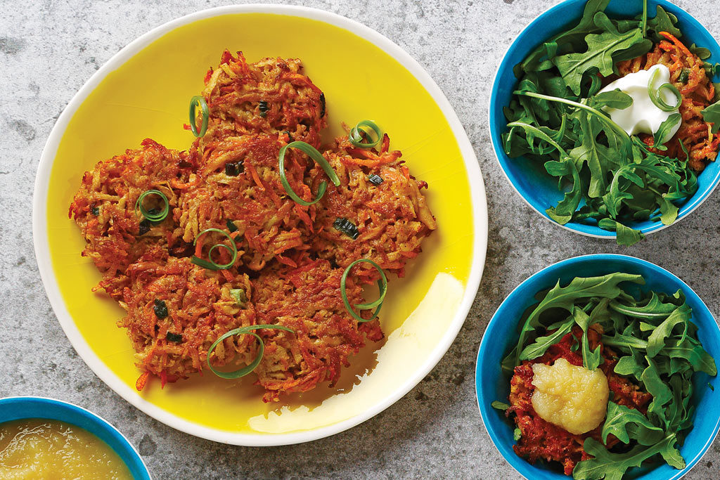 Carrot and Parsnip Fritters