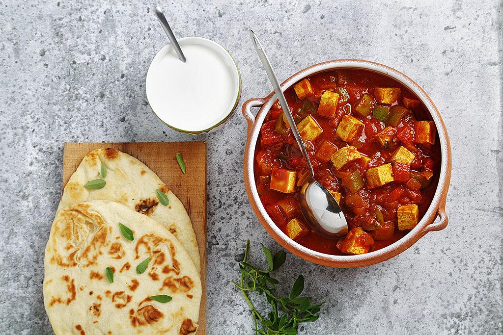 Indian-Style Chili Tofu