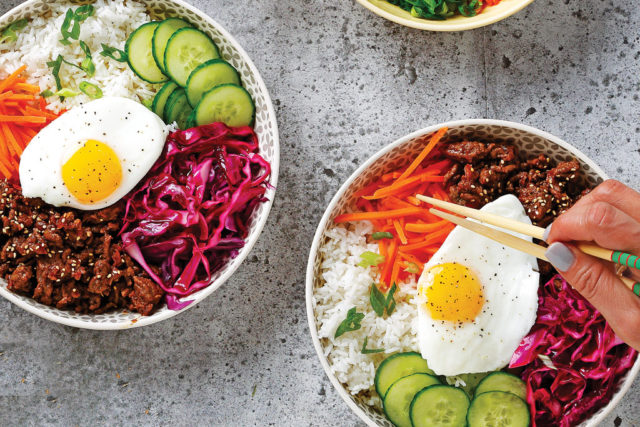 Korean-Style Beef and Veggie Bowl
