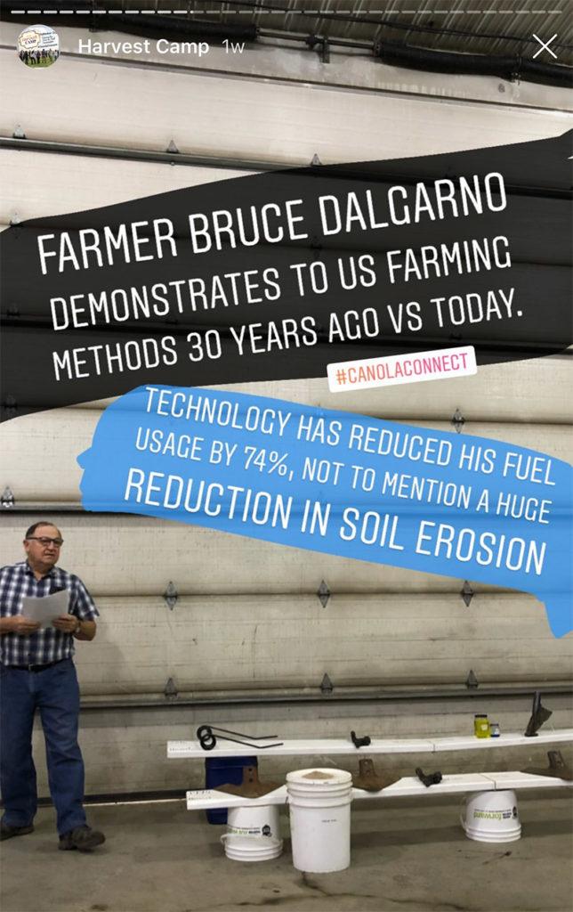 Farmer Bruce Dalgarno