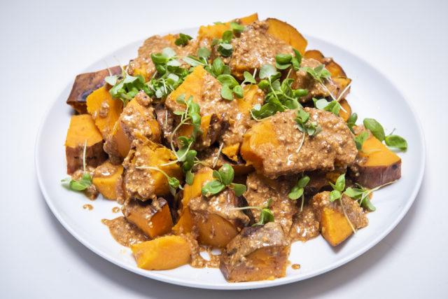Peanut Butter Sweet Potato