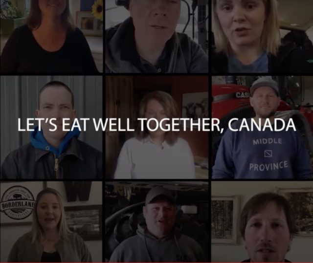 Field to Table, Eat Well Together in Support of Canadian Restaurants