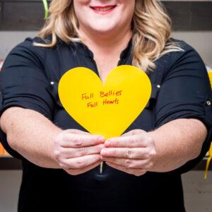 Andrea Buckett Heart Hands
