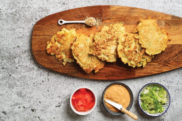 Okonomiyaki: Savoury Cabbage Pancakes