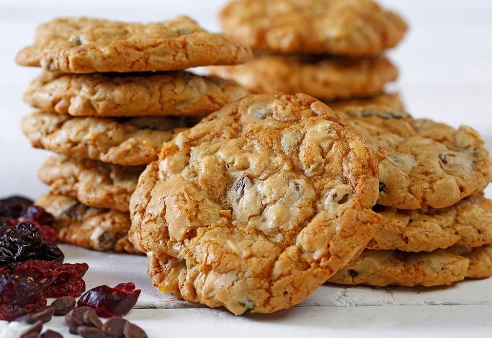 Fully Loaded Whole Wheat Berry Cookies
