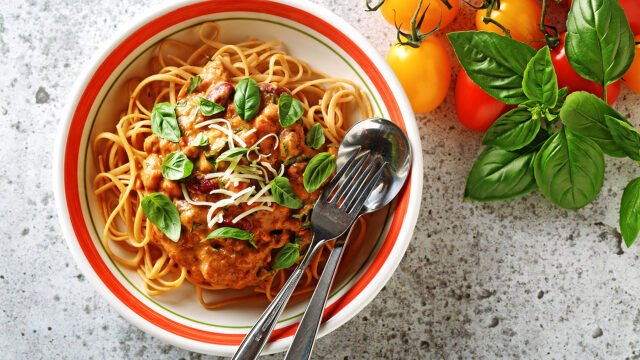 Roasted Tomato Sauce Linguini